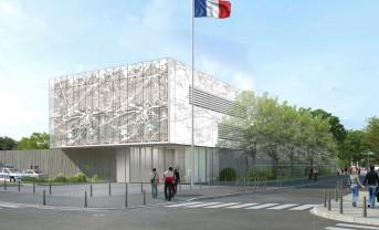 Commissariat des Mureaux (78)