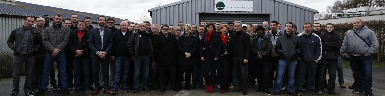 Cogelec, une équipe de 80 professionnels de l'électricité, sur toute la Haute Normandie
